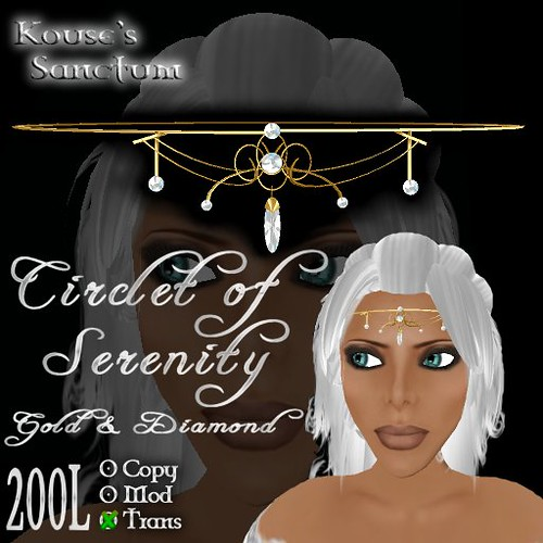 Circlet of Serenity - Gold - Diamond - Ad