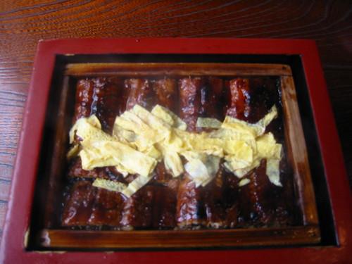 Barbequeued eels