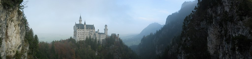 Neuchswanstein castle Panorama