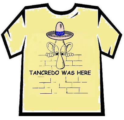 Tancredo Immigration T-shirt