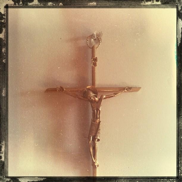 Un Cristo aburrido.