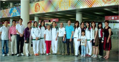 『好運北京-2008北京奧運花樣游泳資格選拔賽』代表隊赴程