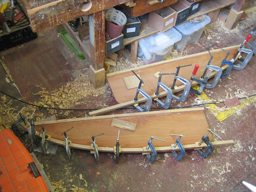 centreboard case sides