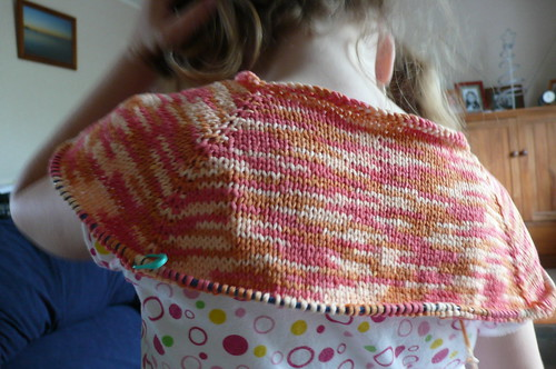 Top Down Raglan made of Corn