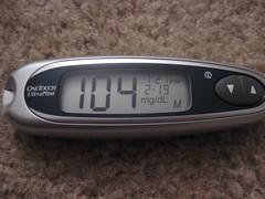 February 19, 2008 - diabetes365 - day 134