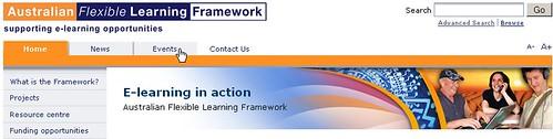Screen grab of new Framework banner