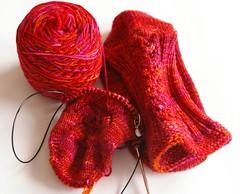 Red Dwarf socks - for me