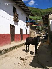 Das Städtchen Leymebamba