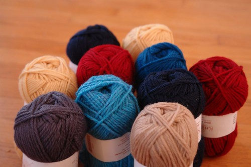 yarn for cushions