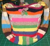 Reconstructed Sweater Bag #2