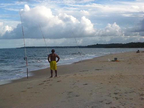 Um bom dia para pescar