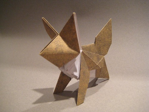 Forchers fox by Joseph Wu Origami