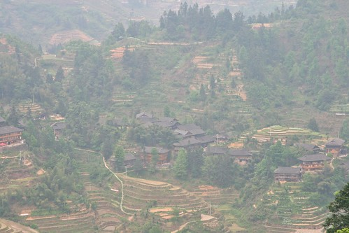 Dazhai village and rice terraces