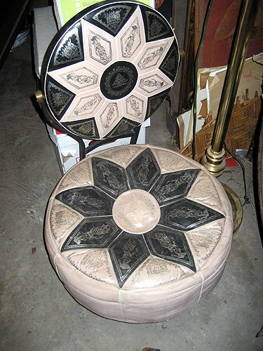 Lovely vintage seat/stool/ottoman thing