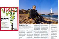 Zalul's Benjamin Kahn - Time Magazine Hero of the Environment