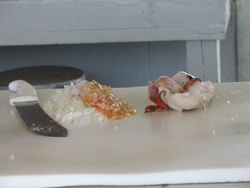 Conch Salad Ingredients