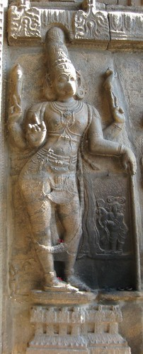 Adhikara Nandhi at the entrance, the best of all