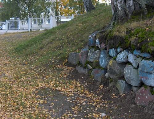 Artwork on the stones