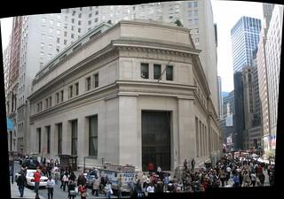 J. P. Morgan & Co. Building panorama