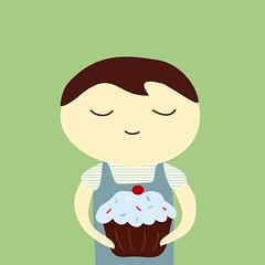 cupcake boy