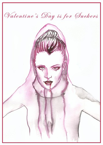 vampire valentine by samlovesherdog.