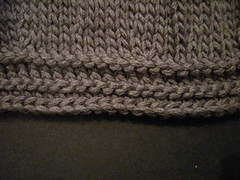 Bind Off Section