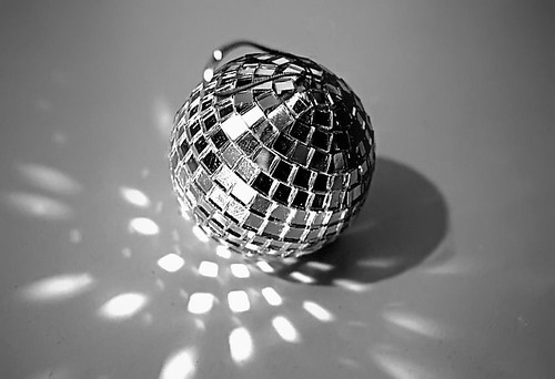 the disco ball spins away another year