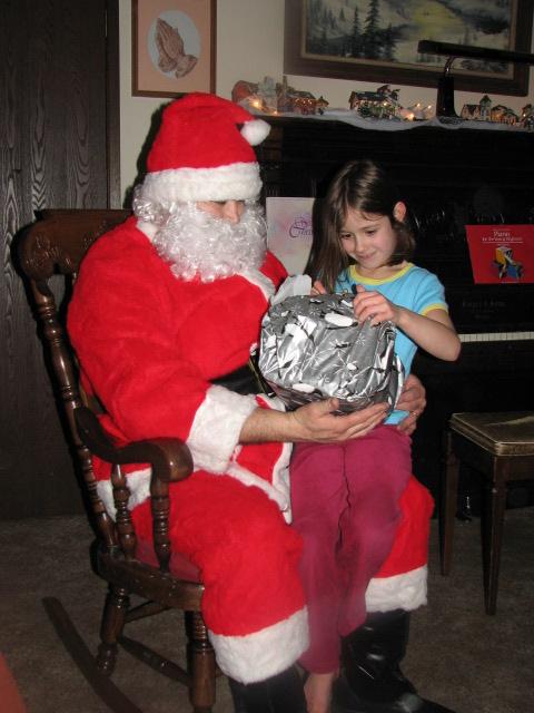 Dot and Santa