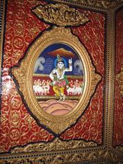 Lifting Govarthana Hill
