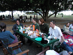 Carmen, Jen, Monica, Gillian, Gruff