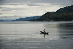 Lake Toba Fisherman by Ben Peters