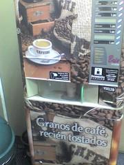 Maquina de Cafe al desnudo