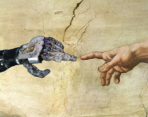 The Singularity when AI overtakes human intelligence (credit: Jamais Cascio on flickr.com)