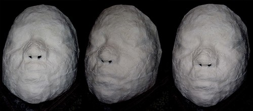 My face cast