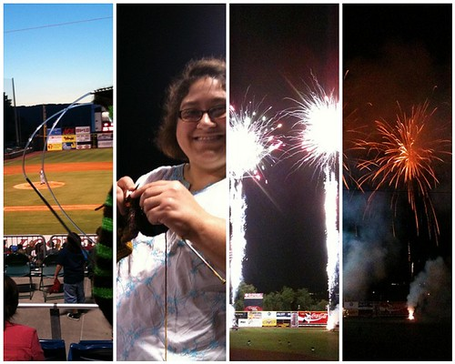 Lookouts Game, 5/6/11: Mosaic