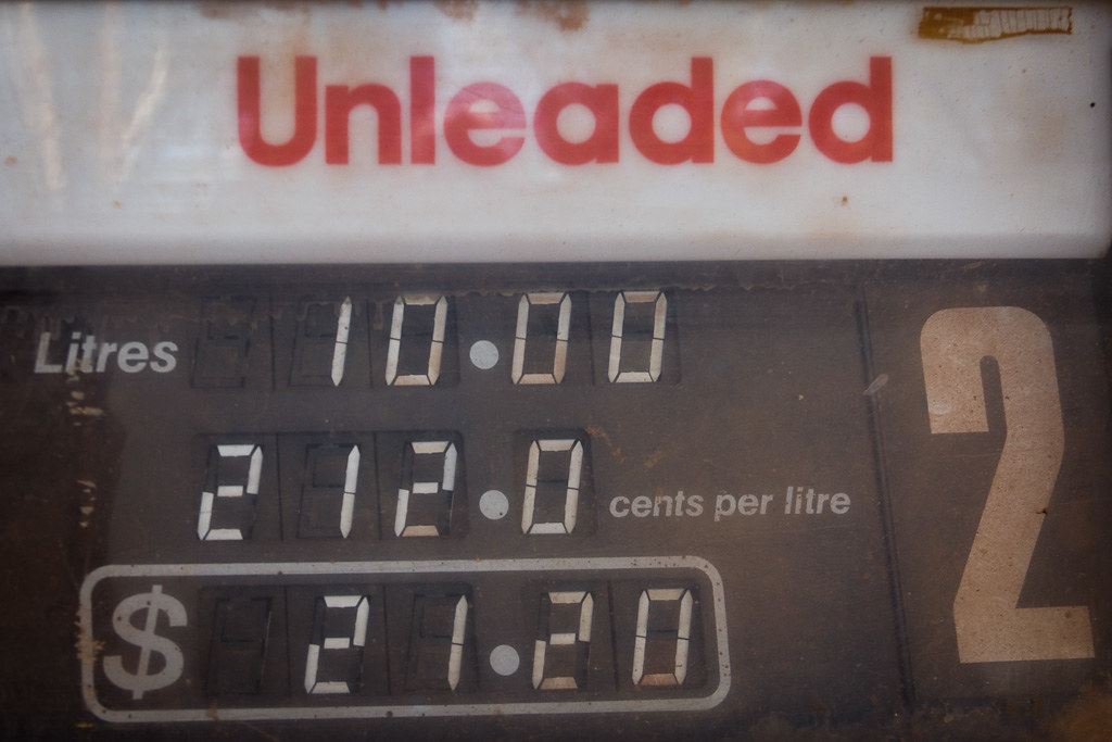 J20 / détail du quotidien : l'essence