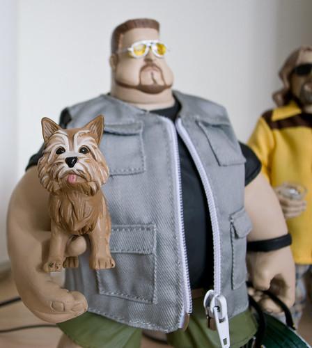 Walter and his dog
