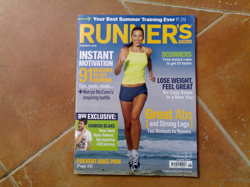Runner's World FEB 2008