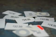 30 Tiny Moments 25/30: Old Navy Tags