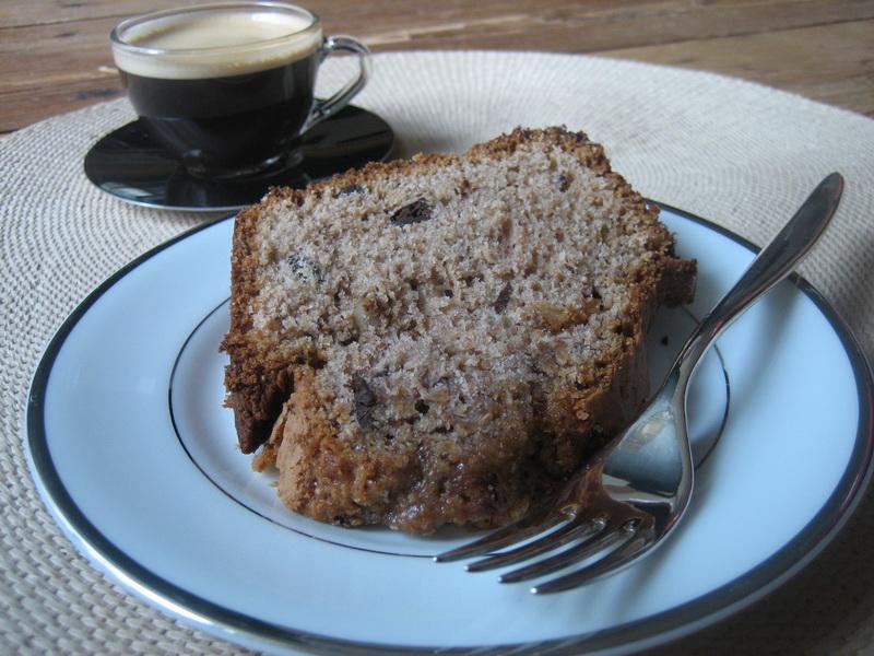 chestnut and hazelnut cake