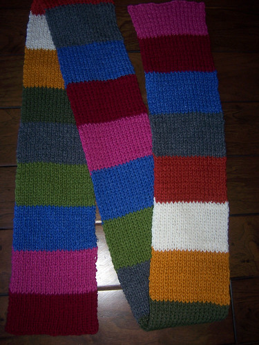 knitting scarf 2