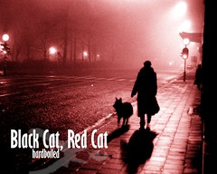 Black Cat, Red Cat hardboiled wallpaper 3