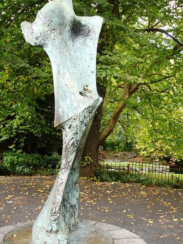 Yeats Statue
