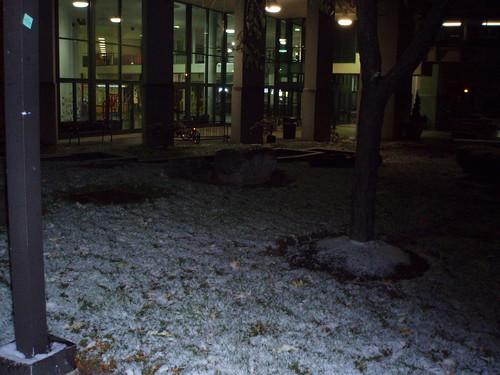 11/17 outside student union
