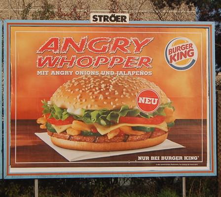 Everything looks angrier in German.