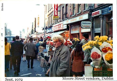 Street Vendors, Moore St.
