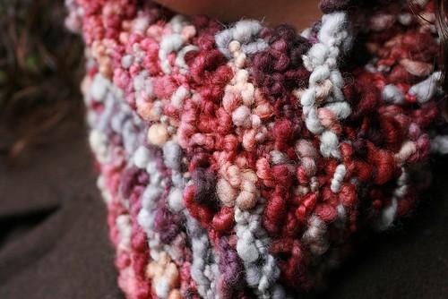 Big wooly scarf