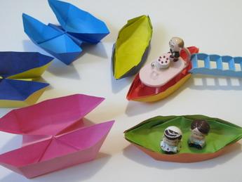 【摺紙】Boat、Twin boat、Yacht(3.7ys)