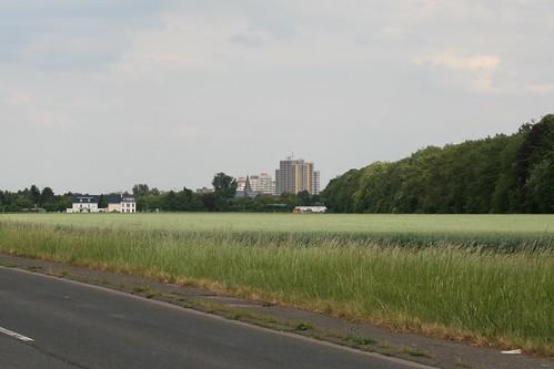 Chorweiler am Horizont