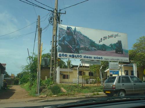 Pro Military Billboard